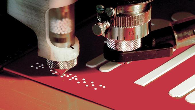 Gravographellas-Γραφή Braille