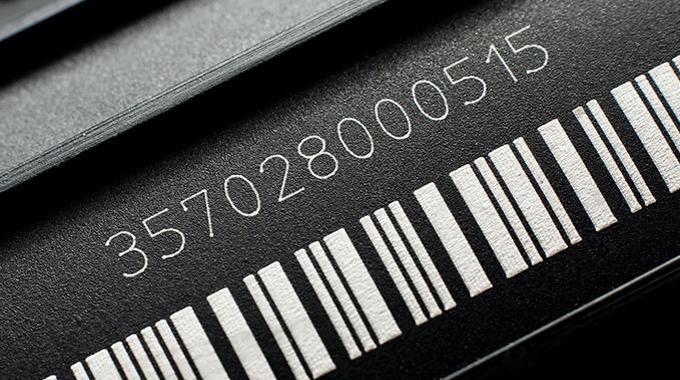 Gravographellas-Σήμανση Barcode